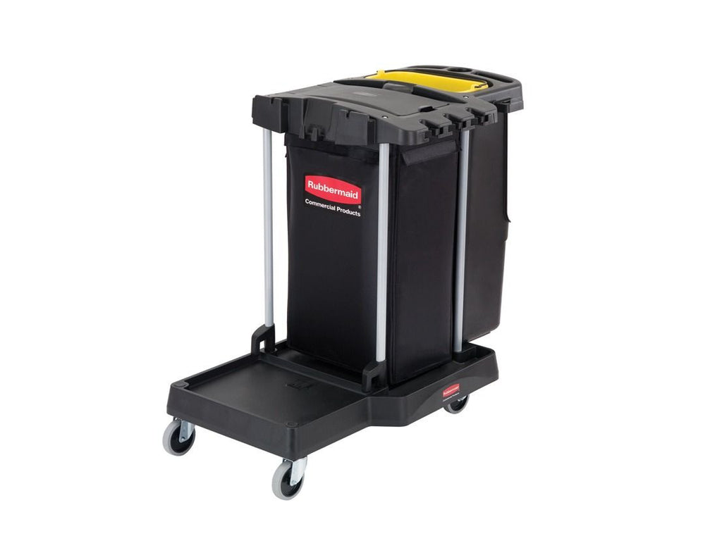 DELUXE COMPACT CLEANING CART 105.2x56.5x96.7cm BLACK*