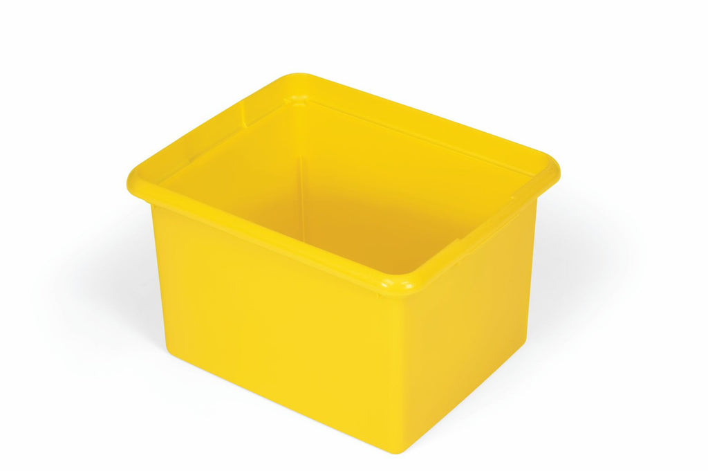 30qt QRGANIZING BIN YELLOW