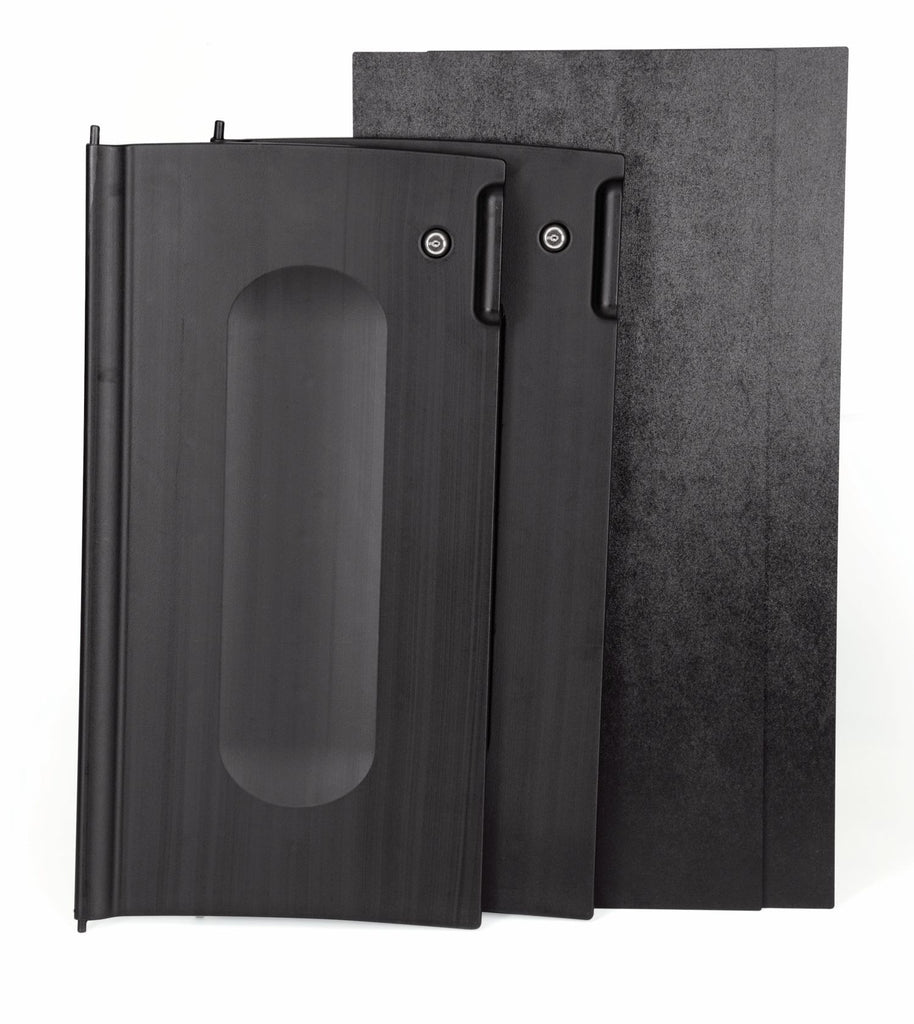 70296-85 LOCKING CABINET DOOR  KIT BLACK