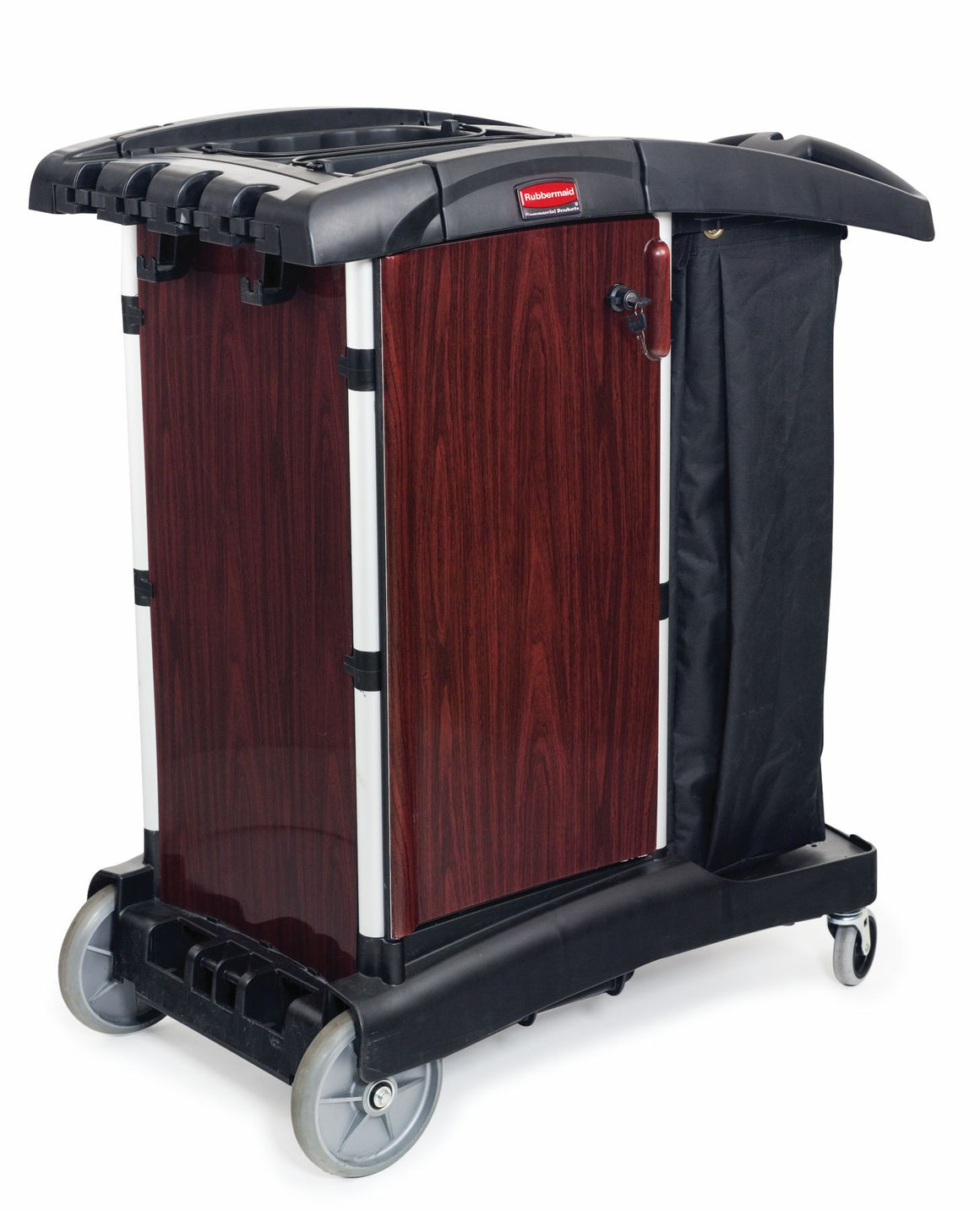 DELUXE PANELED COMPACT HOUSEKEEPING CART
