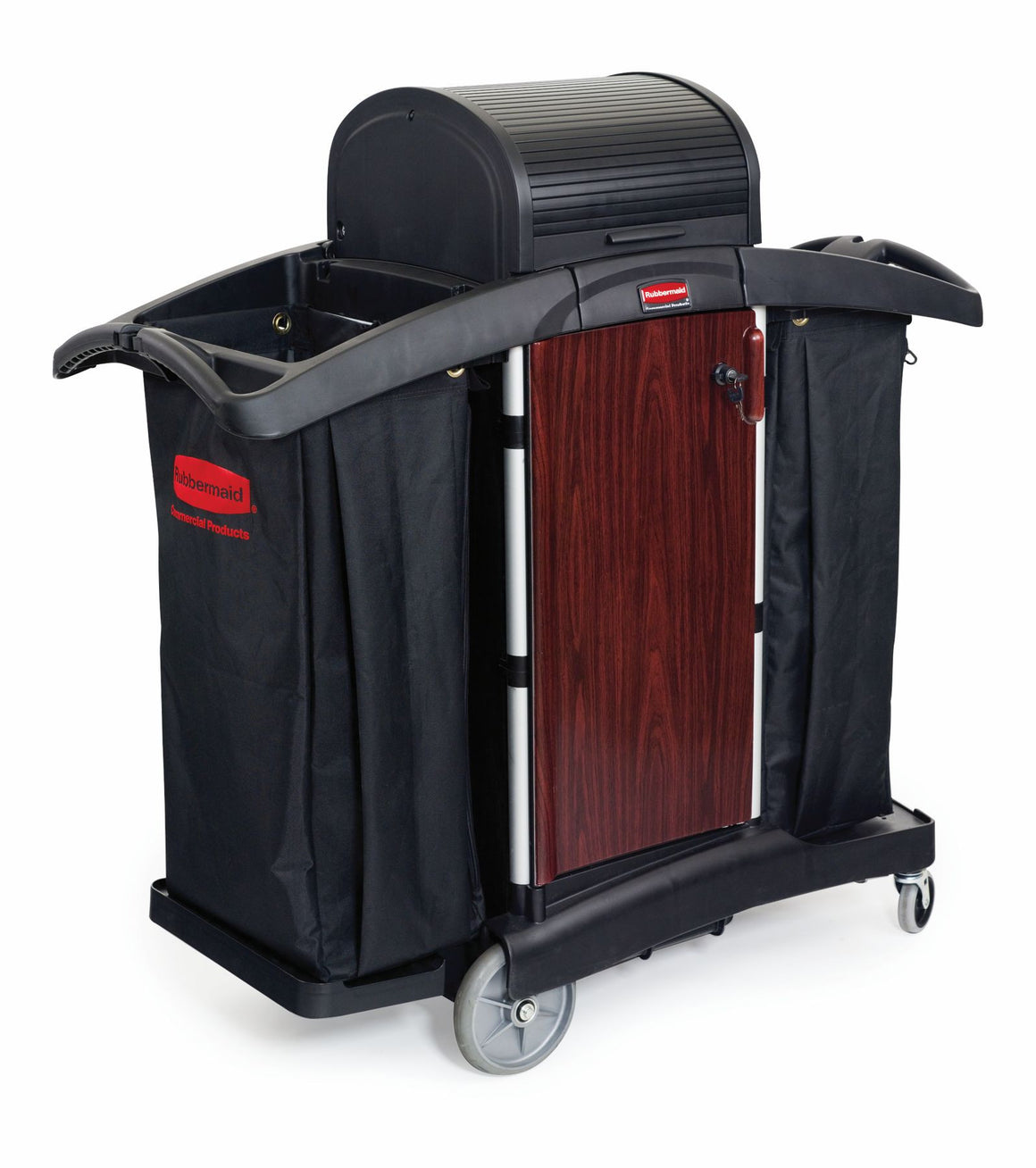 DELUXE PANELED HOUSEKEEPING CART