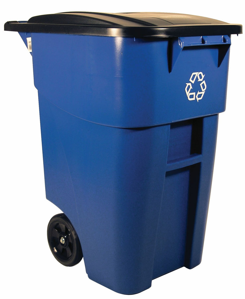 BRUTE RECYCLING ROLLOUT CONTAINER BLUE
