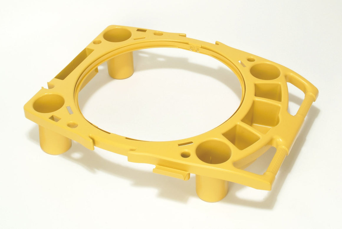 "BRUTE RIM CADDY 32.8x27.5x7.3"" YELLOW"
