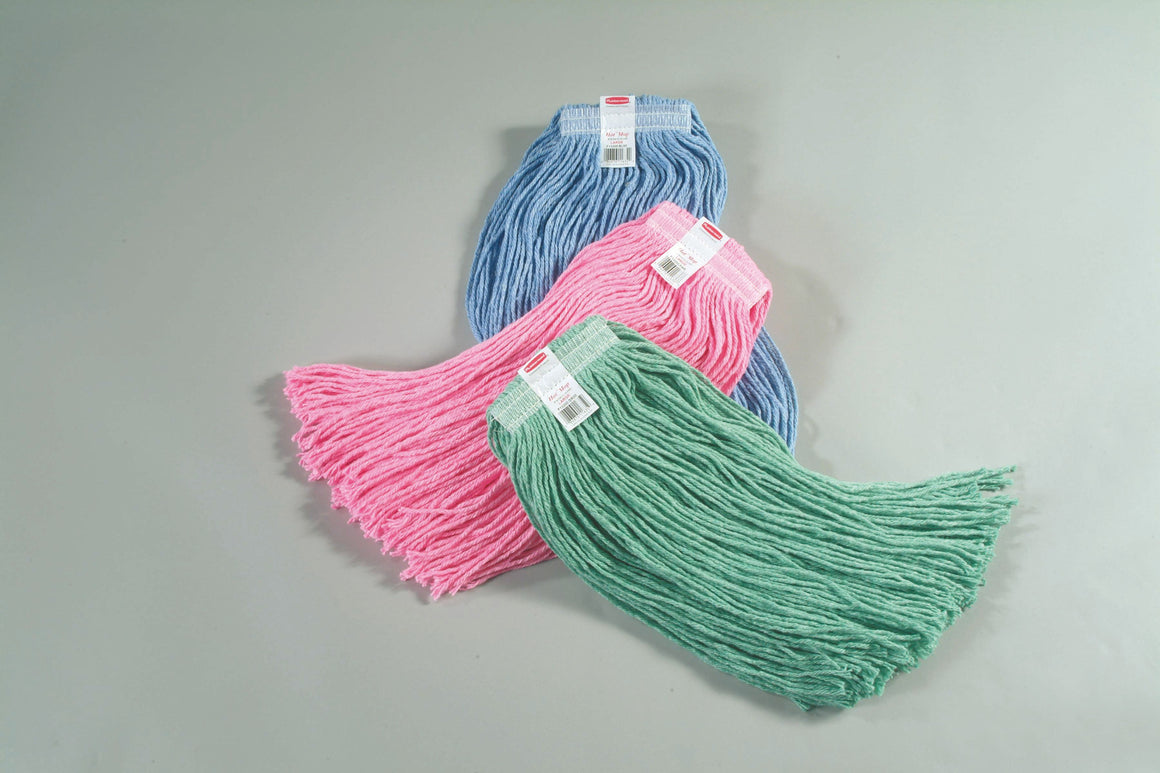 "SYNTHETIC BLEND MOP. 1"" HEADBAND 24oz GREEN"