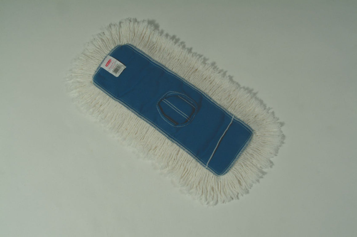 "24""x5""DUST MOP WHITE"