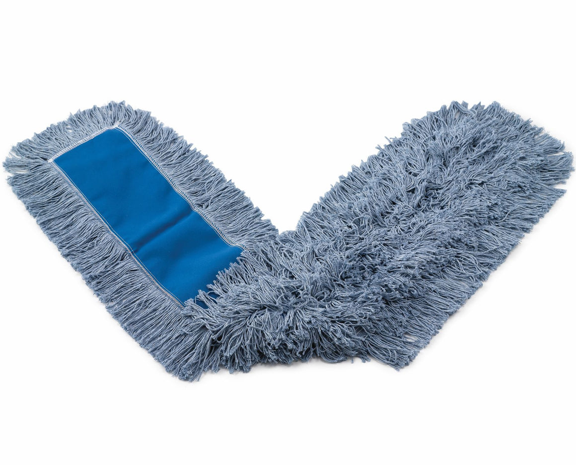 "48""x5""KUT-A-WAY DUST MOP WHITE"