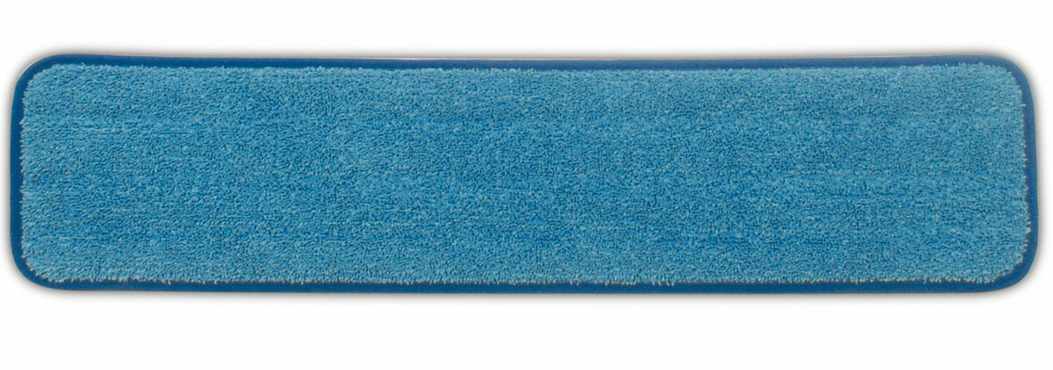 "MICROFIBER 24½x5½"" WET ROOM PAD BLUE"