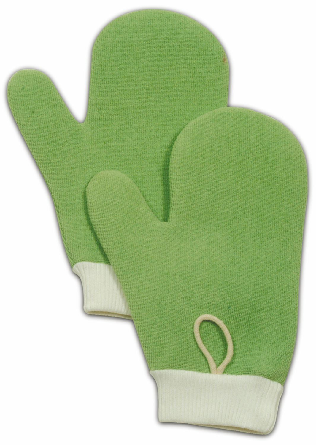 "MICROFIBER ALL PURPOSE MITT W/THUMB 8¾"" GREEN"