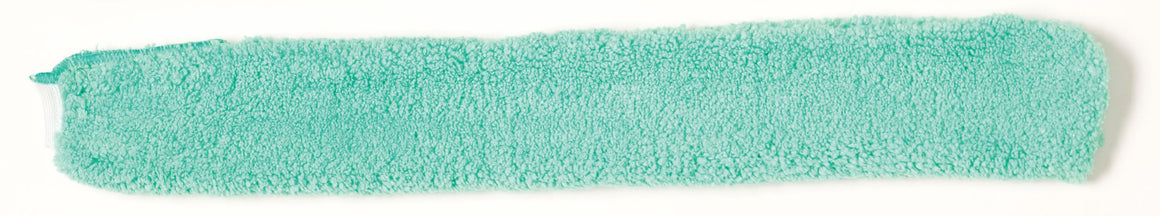 MICROFIBER REPLACEMENT SLEEVE GREEN for Q850 WAND DUSTER