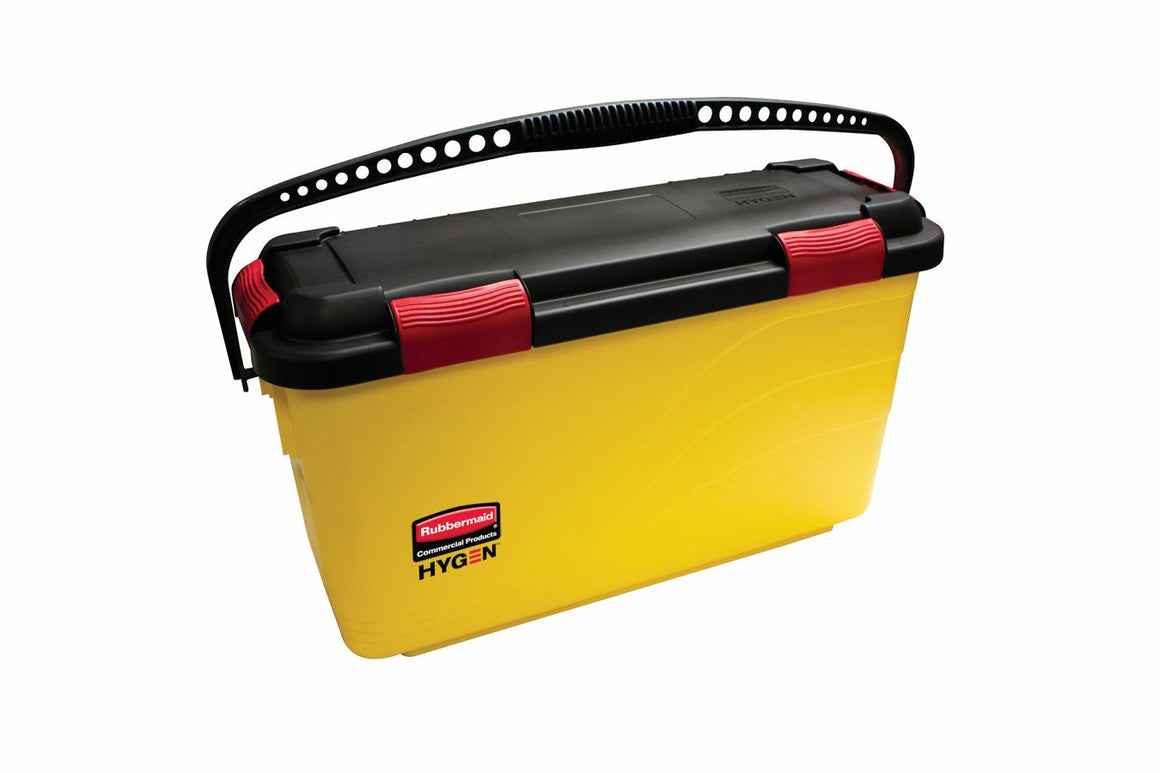 "69934-95 DISINFECTING BUCKET 25.1x8.8x12.2"" YELLOW"