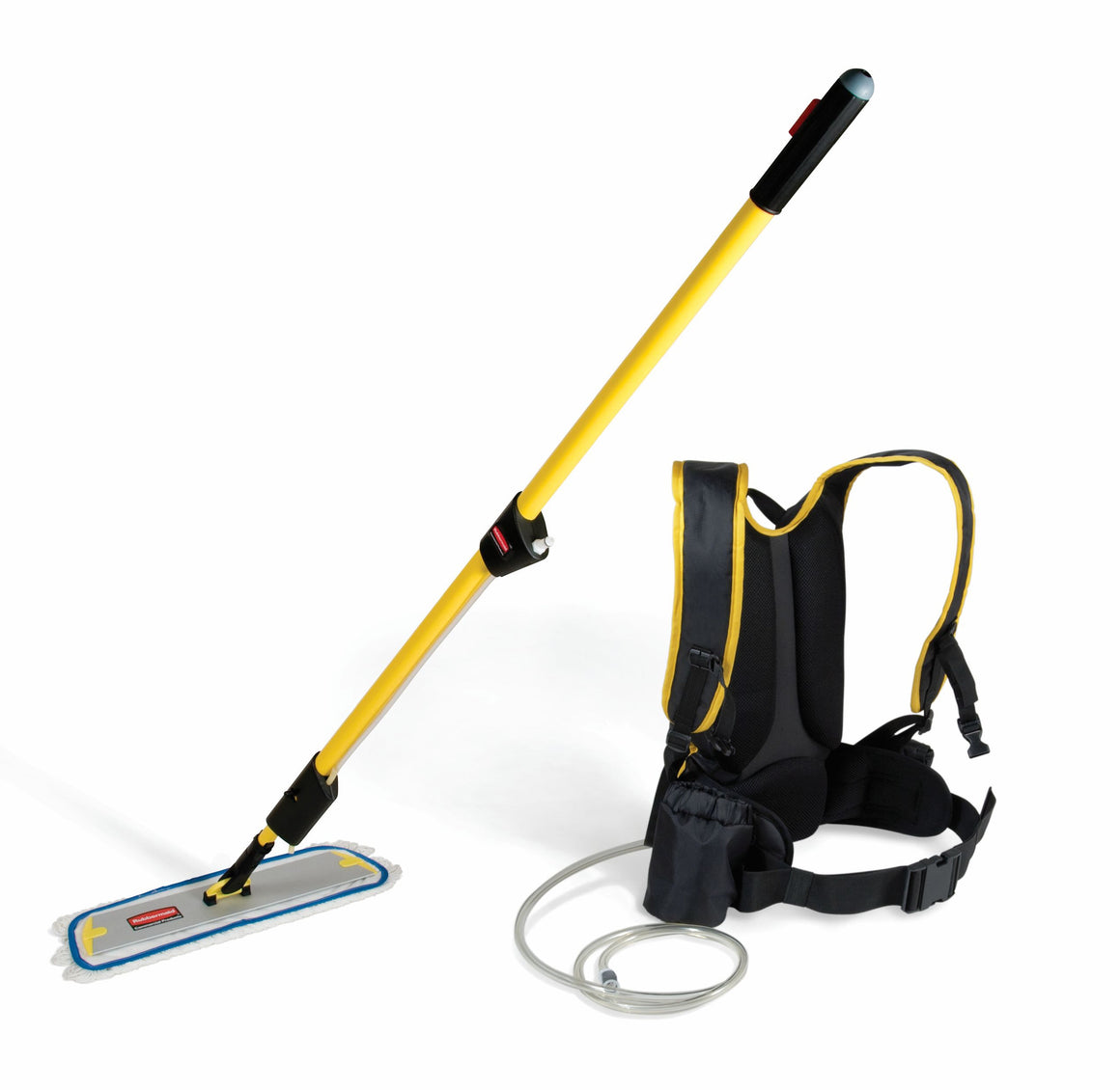 "BACKPACK,TRIGGER HANDLE,18""Q-CONNECT FRAME & Q805 NYLON FLAT MOP"