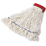 RUBBERMAID CLEAN ROOM MOP HEAD WHITE