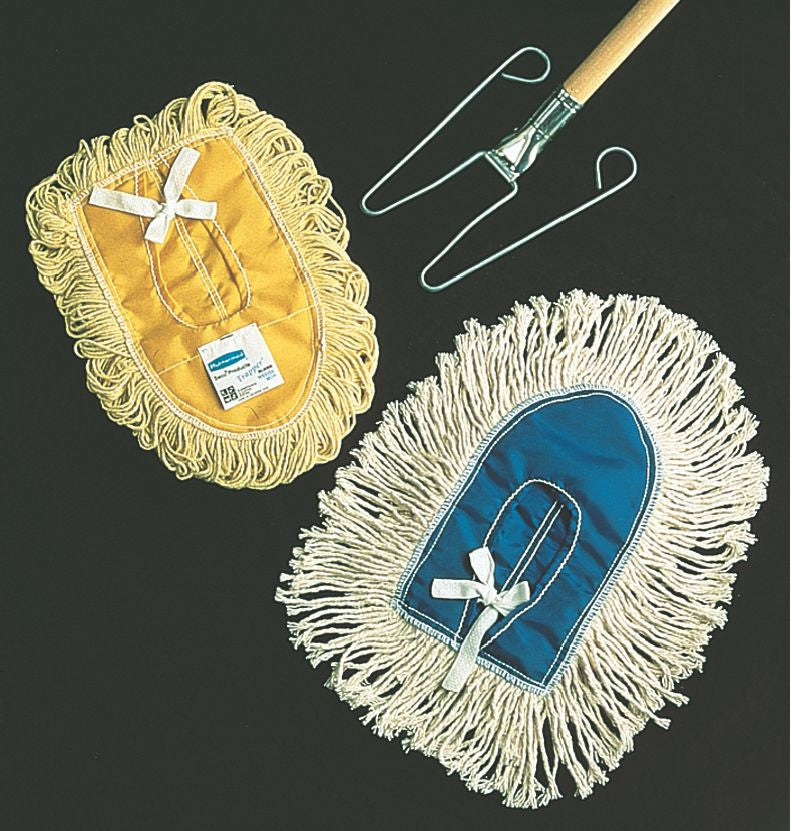 LOOPED END WEDGE DUST MOP YELLOW for U110
