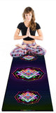 Shri Yantra Version 1 Yoga Mat