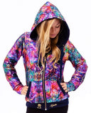 Women's Reversible Hoodie - Abstract