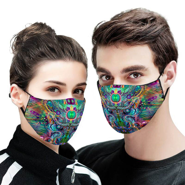Abstract Version 2 Face Mask