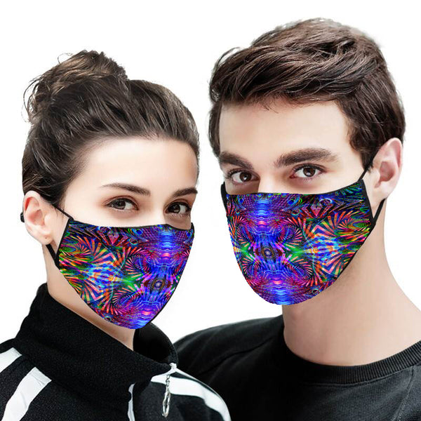 Abstract Remix Version 3 Face Mask