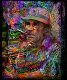 Art Blanket - Doctor Hunter S. Thompson