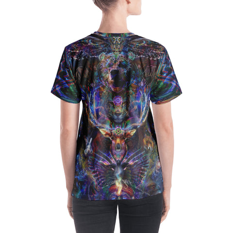 Women's V-Neck T-Shirt - Ether Spirit (Elemental Series)