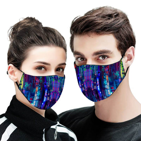 Future Tokyo Version 2 Face Mask