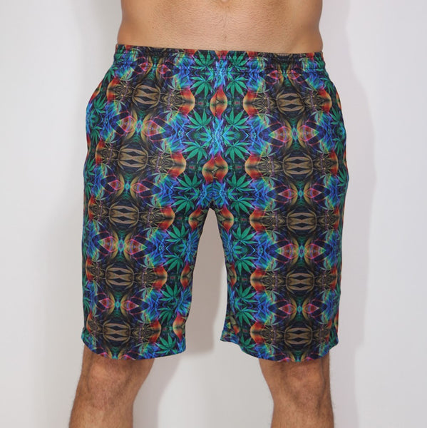 Sweet Leaf Long Shorts