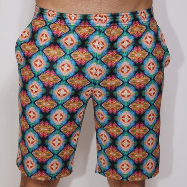 Owl Remix Long Shorts