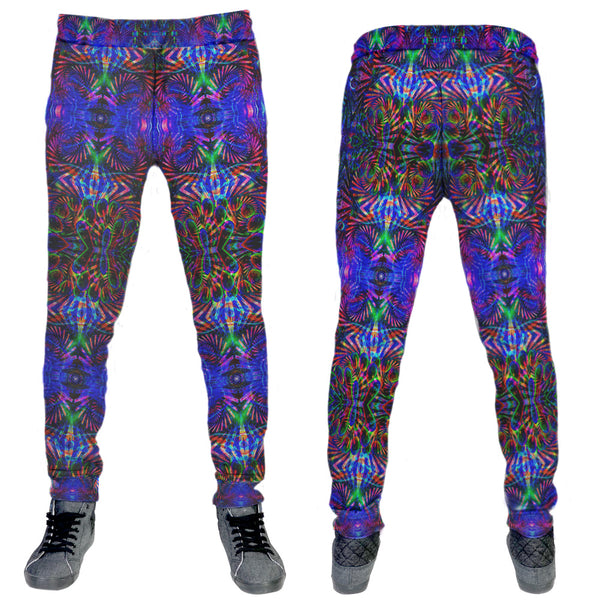 Abstract Jogger Remix