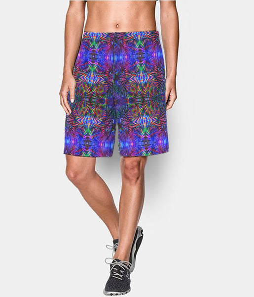 Abstract Remix Long Shorts