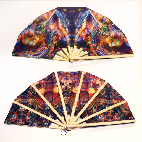 Double-sided Hand Fans