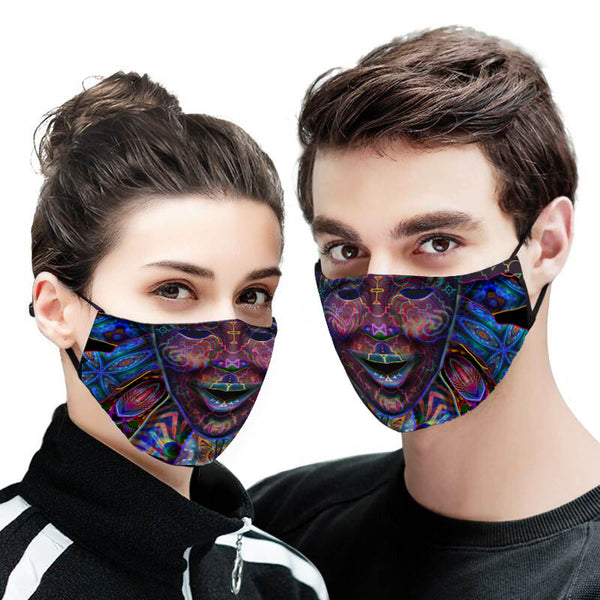 Shpongle Face Mask