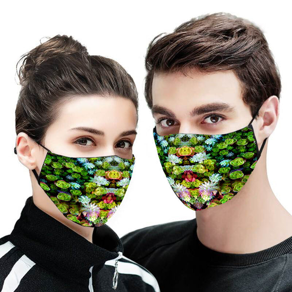 Succulent Face Mask