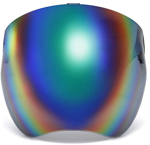 Vibe Visor Green Rainbow
