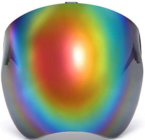 Vibe Visor Red Rainbow