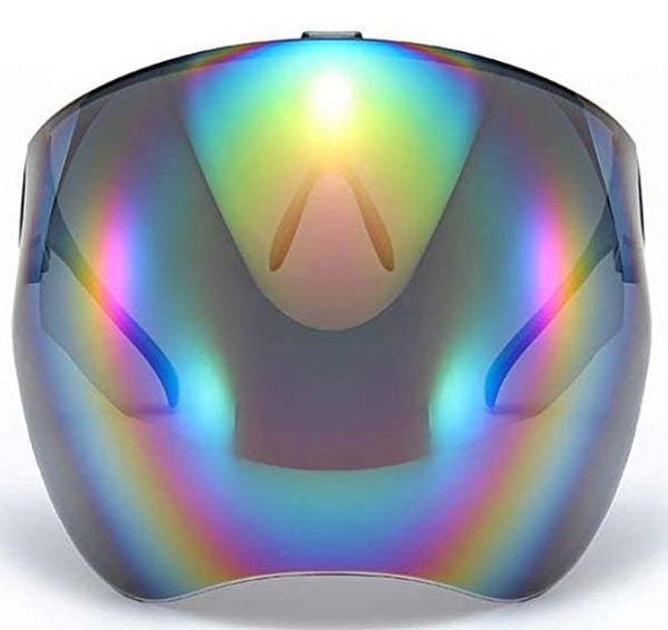 Vibe Visor Yellow Rainbow