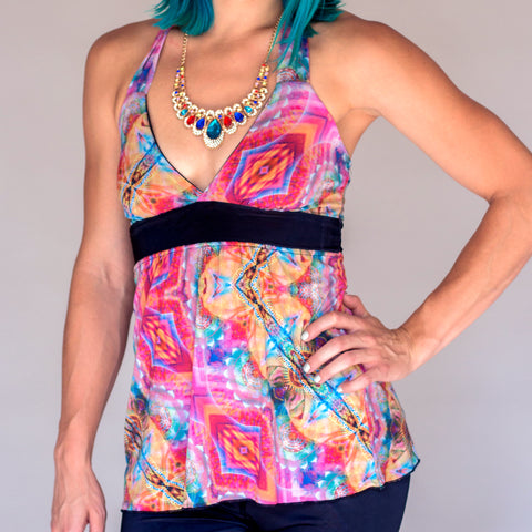 Reversible Halter Top - Bastet