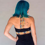 Reversible Halter Top - Owl