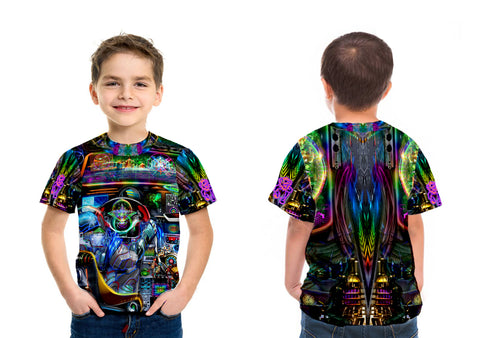 Spaceship Kids Tee