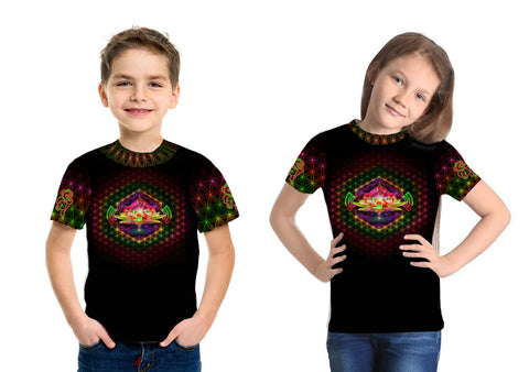 Lotus Remix Kids Tee
