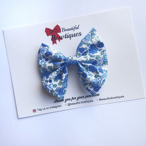 Sailor Bow Mini - Liberty Blue