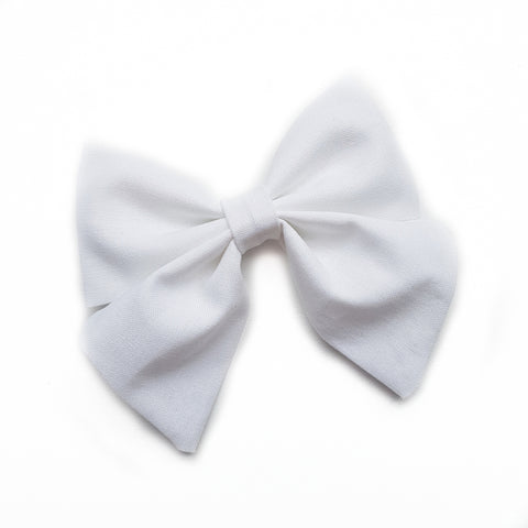 Sailor Bow / White