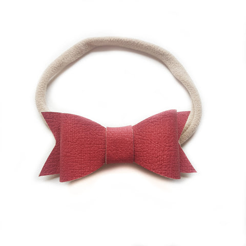 Audrey Bow / Denim Burgundy