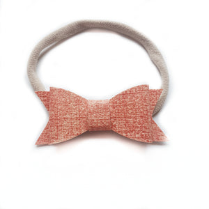 Audrey Bow / Denim Coral