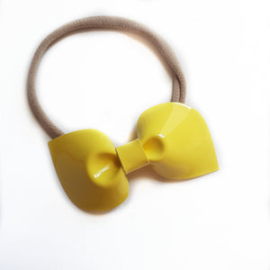 Amelia Bows / Yellow