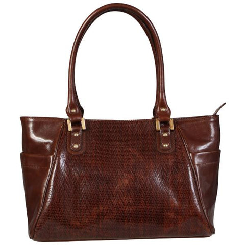 Genuine Leather Elegant 'Office Style' Shoulder Bag