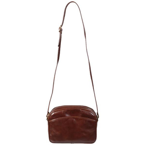 Genuine Vintage Leather Cross-body Bag