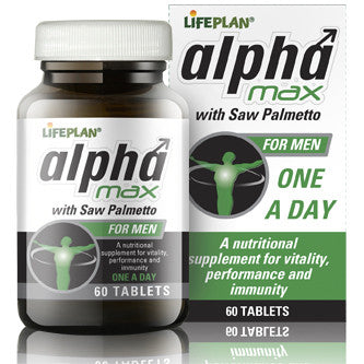 Alpha Max with Saw Palmetto 60 Tablets