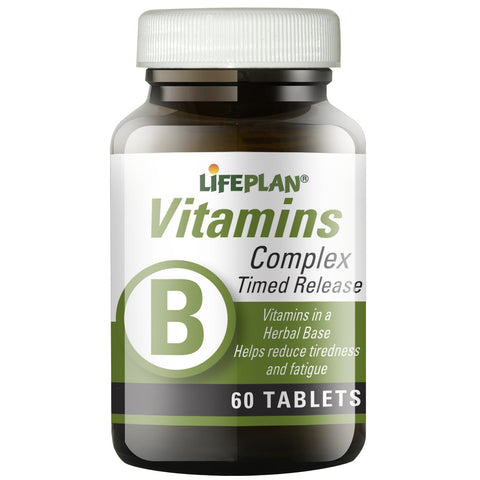 Vitamin B Complex Time Release 60 tabs