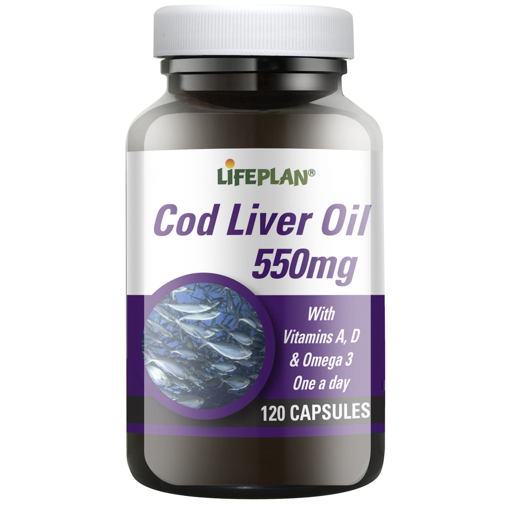Cod Liver Oil 550mg 120 caps
