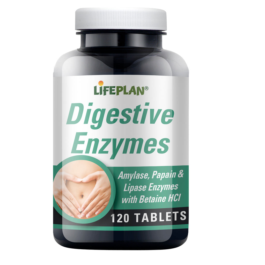 Digestive Enzymes 120 Tablets