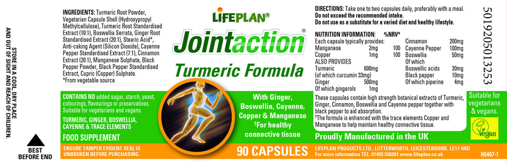 Joint Action Turmeric 90 Capsules